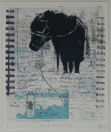 Blair Folts, Mongolian Journals, Horse I