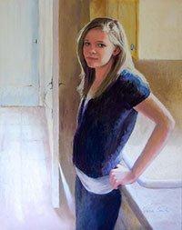 Jeanne Rosier Smith, Almost Fourteen (pastel)