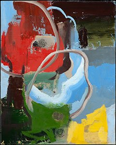 Irwin Thompson, Life Begins, oil