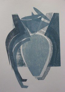 Danette English, Vase Series #2, print