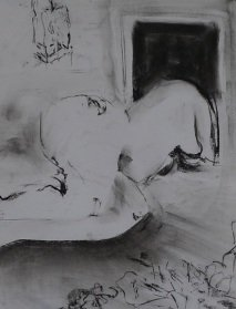 Esther Folts, Reclining