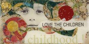 """Karen Watson, """"Childhood"""", greeting card"""
