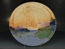 Sharon Nahill, Oakhill Pottery, large stoneware platter
