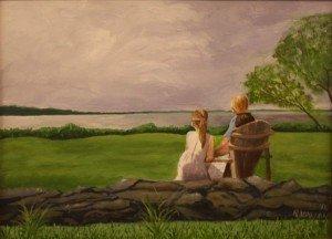 Ruth Vallon, Serenity, oil