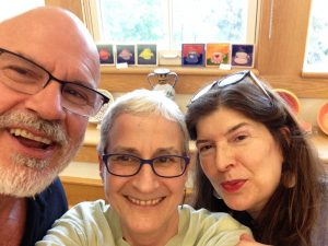 Belmont Public Schools 2016 art reception: Richard Hill, Anne Katzeff, Rebecca Richards
