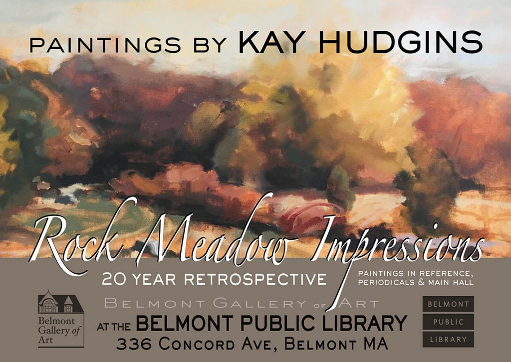 Kay Hudgins exhibit promo